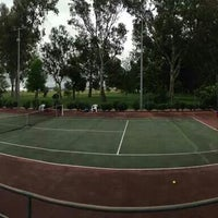 Photo taken at Complexo de Ténis e Padel de Almeirim by Gonçalo S. on 4/26/2014