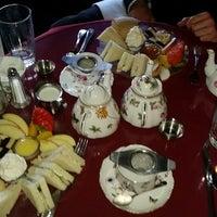Photo taken at Elizabeth & Alexander's English  Tea Room by Robyn G. on 2/12/2015