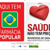 Photo taken at Brazfarma Drogaria - Unifarma - Farmácia Popular by João Paulo A. on 7/30/2013