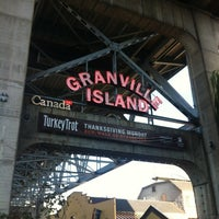 Photo taken at Granville Island by Miguel M. on 10/2/2012