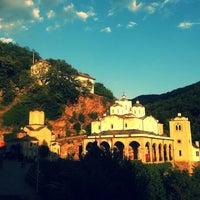 Photo taken at Манастир Свети Јоаким Осоговски / Joachim of Osogovo Monastery by Kristina G. on 8/3/2013