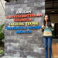 Photo taken at Universitas Negeri Jakarta by John on 8/28/2013