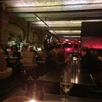 Photo taken at Sage Restaurant & Beach by Cindy C. on 2/27/2013