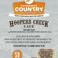 Photo taken at Hoopers Creek Cafe by Eydie M. on 2/14/2013