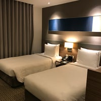 Photo taken at Holiday Inn Express Bangkok Sathorn by Premwadee M. on 11/14/2017
