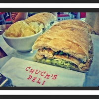 Photo taken at Chuck's Deli by Jerepee J. on 4/12/2014