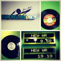 Photo taken at Usain Bolt's Tracks & Records by tamar m. on 10/17/2012