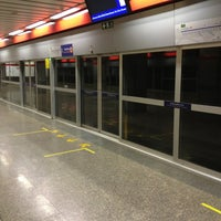 Photo taken at MRT Phahon Yothin (PHA) by Peerawat W. on 12/23/2012