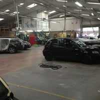 Photo taken at Manchester Accident Repair Centre by Craig H. on 8/5/2013