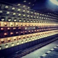 Photo taken at Metro =A= =C= Muzeum by Der Brüsseler on 7/24/2013