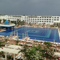 Photo taken at Marco Polo RIU Hotel Hammamet by Bruno C. on 9/2/2013