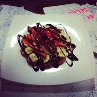 Photo taken at Waffle Lila House by BanuuG on 4/27/2015