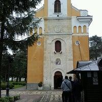 Photo taken at Црква Св. Тројице (Саборна црква Краљево) by Kardžo on 5/6/2017