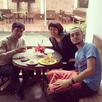Photo taken at Cocina Mitho Chha by Nathalie L. on 12/7/2013