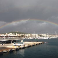 Photo taken at Palma, France by Emel Y. on 11/17/2014