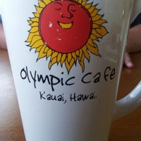 Photo taken at Olympic Cafe by Wendelina on 9/28/2012