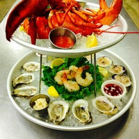 Photo taken at Fish Tale Grill by Merrick Seafood by Fish Tale Grill by Merrick Seafood on 7/30/2013