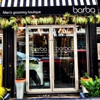 Photo taken at Barba Men's Grooming Boutique by Barba Men's G. on 12/2/2013