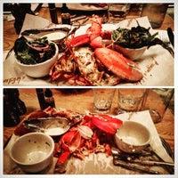 Photo taken at Burger & Lobster by April C. on 6/20/2015