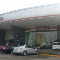 Photo taken at Toyota Poza Rica by Yari C. on 6/5/2014