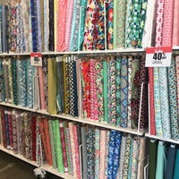 Photo taken at JOANN Fabrics and Crafts by Eleanor R. on 3/31/2017