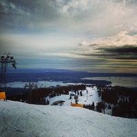 Photo taken at Grouse Mountain by Simon S. on 3/27/2013