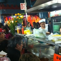Photo taken at Mercado de Comida Coyoacán by Hugo on 11/3/2012