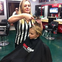 Photo taken at SportClips by Pilar D. on 2/5/2013