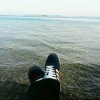 Photo taken at Amanrüya Beach Club by Meltem Funda G. on 2/6/2017
