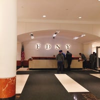 Photo taken at FDNY Headquarters by Minji H. on 10/11/2016
