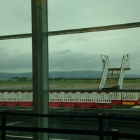 Photo taken at City of Derry Airport (LDY) by Charlene S. on 10/30/2013
