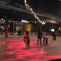 Photo taken at The Standard Ice Rink by Juvenal M. on 2/19/2017