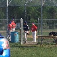 Photo taken at Colts Neck PAL baseball field by Susan G. on 5/13/2014