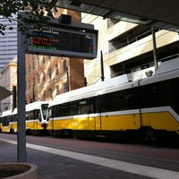 Photo taken at St. Paul Station (DART Rail) by Peter S. on 8/11/2013