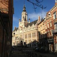 Photo taken at Place Colignonplein by Fabio C. on 12/29/2012