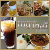 Photo taken at My Thai by Arlene V. on 12/24/2013