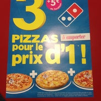Photo taken at Domino's Pizza Chatou by Cassiddy on 11/17/2013