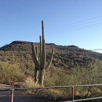 Photo taken at Tumamoc Hill by Cathy B. on 4/15/2013