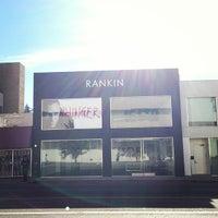 Photo taken at Rankin LA Gallery by Jon H. on 12/15/2012
