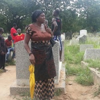 Photo taken at Awudome Cemetery by Ernest B. on 10/5/2013