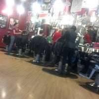 Photo taken at Floyd's 99 Barbershop by Rico C. on 1/27/2013