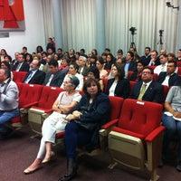"""Photo taken at UNAM Auditorio """"Mario de la Cueva"""" by Salvador M. on 9/10/2014"""