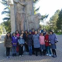 Photo taken at genç kaymek fuar Şubesi by Salih T. on 10/22/2014