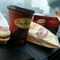 Photo taken at Tim Hortons by Jessica S. on 9/28/2013