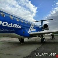 Photo taken at Злітно-посадкова смуга аеропорту Дніпро by Влад А. on 5/23/2014