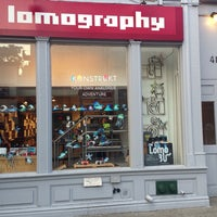 Photo taken at Lomography Gallery Store New York by Eric B. on 8/17/2013