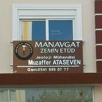 Photo taken at Manavgat Zemin Etüd by Muzaffer A. on 1/20/2014