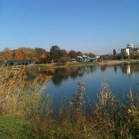 Photo taken at Парк имени 30-летия Победы by Кирилл Р. on 10/12/2013