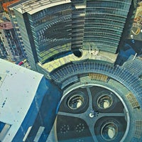 Photo taken at Unicredit Tower by Sergio N. on 7/11/2013