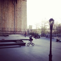Photo taken at Coleman Playground Skatepark by Andre R. on 4/22/2013
